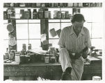 Louis Mideke in his studio circa 1965