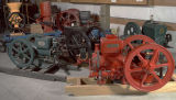 Gas engine collection