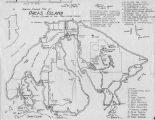 Armchair Cruising Map of Orcas Island