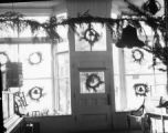 Eastsound Mercantile Co. decorated for Christmas