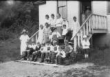 Deer Harbor School in 1921