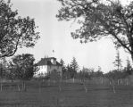 Eastsound  schoolhouse from Pike's orchard, 1914