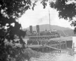S.S. Chippewa in bay Madrona dock, June 1914