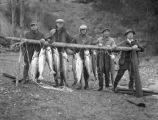 Hilbert's with fish, Buckhorn Lodge
