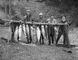Hilberts with Fish, Buckhorn Lodge