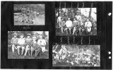 4 photographic prints of children in Eastsound