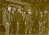 At Baker's Saloon, mining party