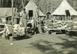 Moving day, Hudlow Creek CCC Camp, Coeur'd'Alene, Idaho, 1935