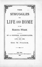 Struggles for life and home in the Northwest, Peola, Washington, 1890