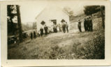 Columbia Center School: Ping Sunday School Picnic, Stevens Ridge, Washington, circa 1920-1925