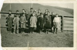 Rainwater School group, Deadman Gulch, Washington, circa 1920-1929