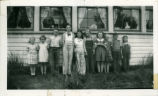 Gould City, Washington School group, circa 1939-1940