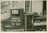 Krouse album: mobile welding service truck, Pomeroy, Washington, circa 1929