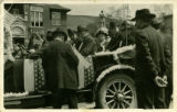 Garfield County Courthouse - parade, 1915? - 1920?