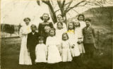 Gould City School students, Gould City, Washington, 1910