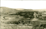 Bird's-eye view of Pomeroy, Pomeroy, Washington, circa 1895