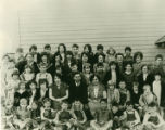 Pataha School group, Pataha, Washington, circa 1928
