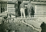 Arthur Bott at Mt. Misery CCC Camp, Mount Misery, Washington, 1933