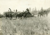 Horse-power engine, Grouse Flat, Hunt Spring, Washington, circa 1913
