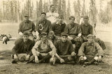 Grouse Flat baseball team, Hunt Spring, Washington, circa 1910-1915