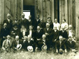 Pataha Flat School reunion, Benjamin Gulch, Washington, 1927