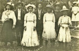 4th of July group, Troy, Oregon, circa 1912