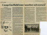 Camp Garfield was another adventure, Pomeroy, Washington, April 17, 1985