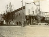 Corner Saloon, Prosser, Washington, 1902