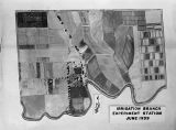 Aerial map of Irrigation Branch Experiment Station, Prosser, Washington, 1939