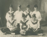 PHS girls basketball team, 1919