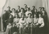 Prosser High School students, Prosser, Washington, 1903