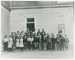 Cow Creek School, Adams County, Washington, circa 1900-1905