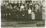 Rockford High School class portrait, 1920, Rockford Washington