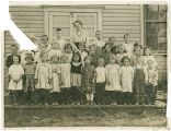 Class portrait, Rockford Washington, ca. 1890-1909