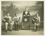 Four member band, including Myrtle Newton, Spokane, Washington