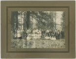 Methodist Sunday school picnic, Rockford Washington, ca. 1895-1915