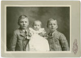 Hurd children, Rockford, Washington, ca. 1891