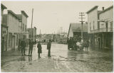View of Emma street after a flood, Rockford, Washington, 1910