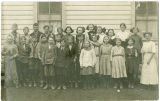 6th grade class portrait, Rockford, Washington, 1912