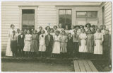 Large class portrait, Rockford, Washington, 1910-1915