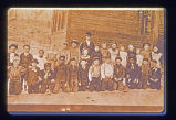 Schoolchildren: Class photo 1890s
