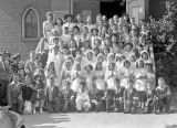 First Communion Class, 1942, Cle Elum, Washington