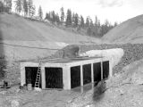 Cle Elum Lake, diversion tunnel, May 1932