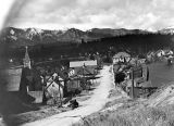 Roslyn, Washington, west from Catholic Hill, May 1, 1938