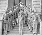 Fraternal Order of Eagles drill team, aerie number 696, Roslyn, Washington, September 1934