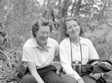 Red Mountain trail, Beatrice Henderson and Dorothy Fraly, May 1942