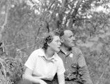 Beatrice Henderson and Pio Panieri at Salmon La Sac, spring 1942