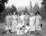 Group of Roslyn, Washington women, fall of 1934