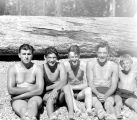 Five swimmers, Kittitas County, Washington, August 1934