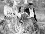 Ruby Creek trail, Pio, Leona, and Bill Ryan, September 1940